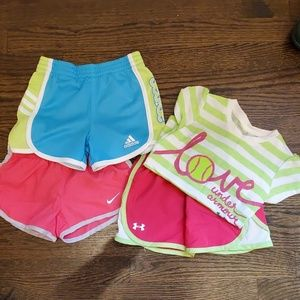 Nike Adidas and Under Armour
